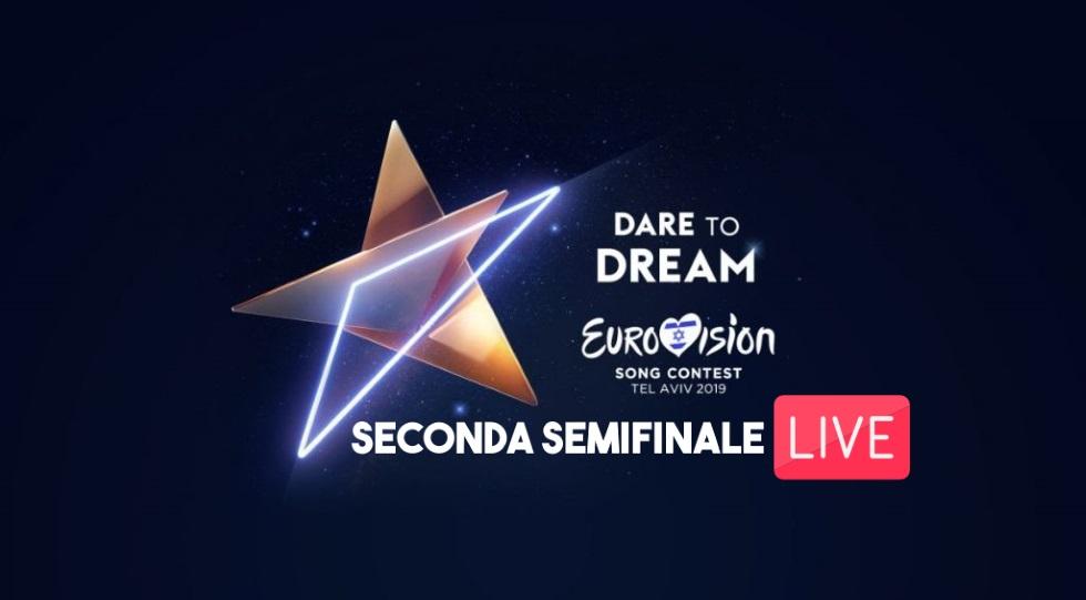 Live seconda semifinale Eurovision 2019