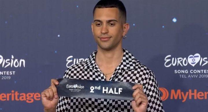 mahmood seconda metà finale eurovision 2019