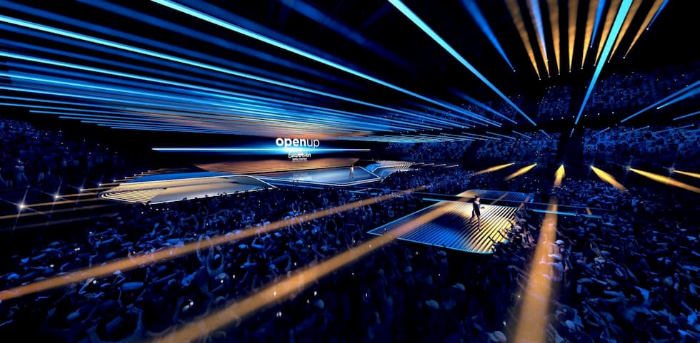 Eurovision 2020 stage design