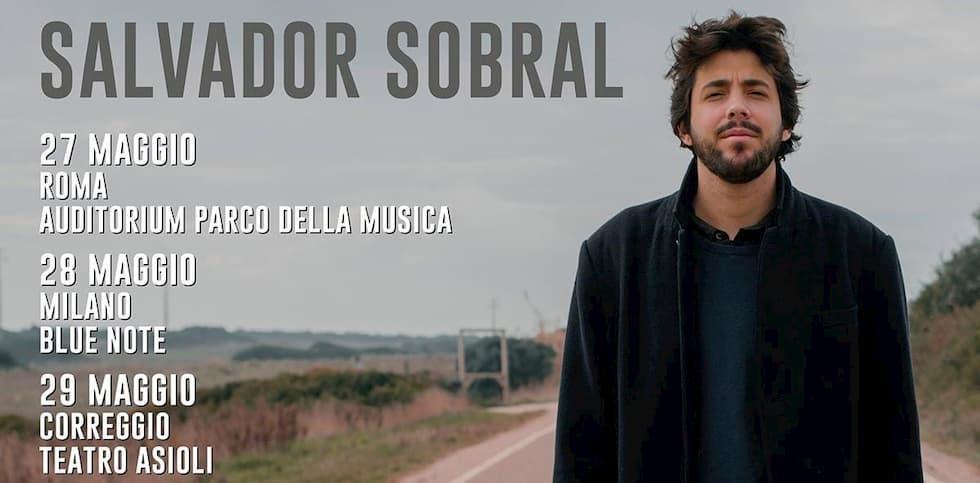 Salvador Sobral tour Italia