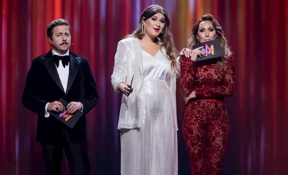 Conduttori Melodifestivalen 2020