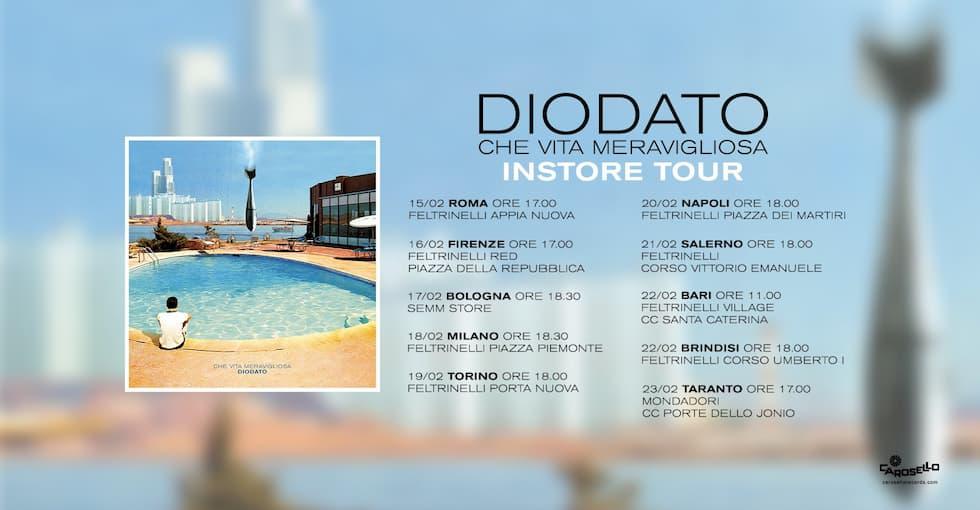 Diodato INSTORE Tour