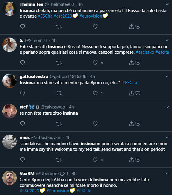 Tweet Insinna