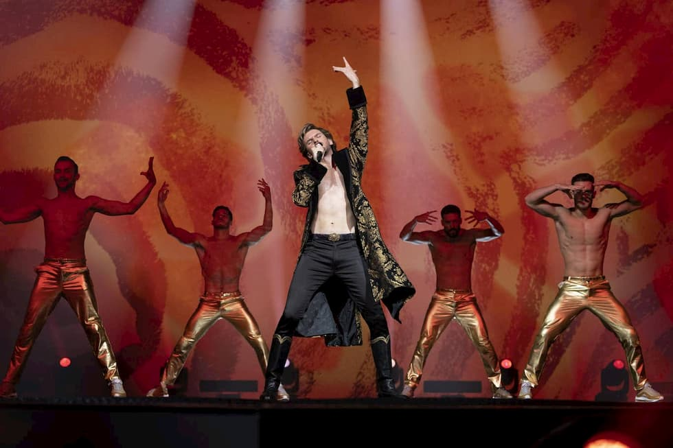 Dan Stevens Eurovision il film