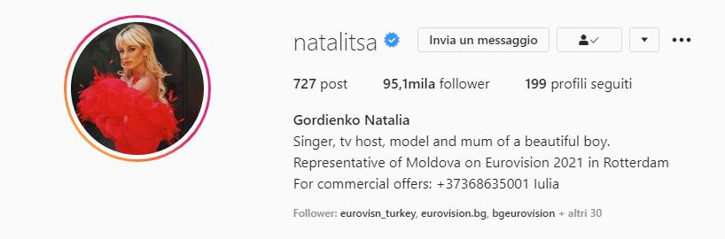 Natalia Gordienko Instagram