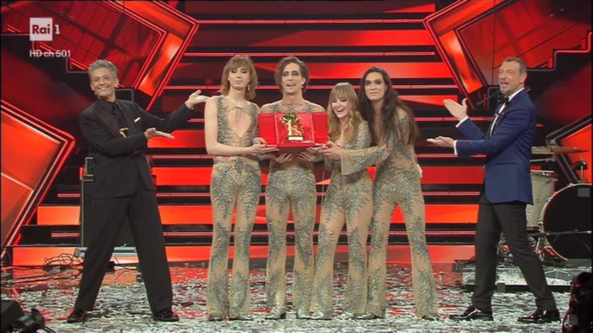 Maneskin Eurovision 2021