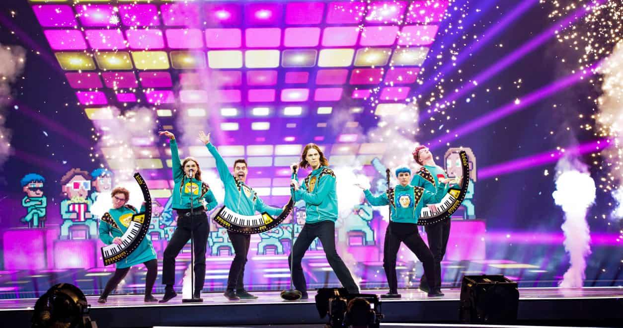 Eurovision 2021 - Jury Show Seconda Semi - Islanda