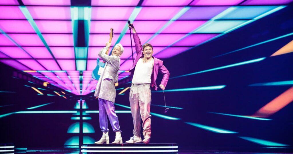 Eurovision 2021 - Jury Show Seconda Semi - Danimarca