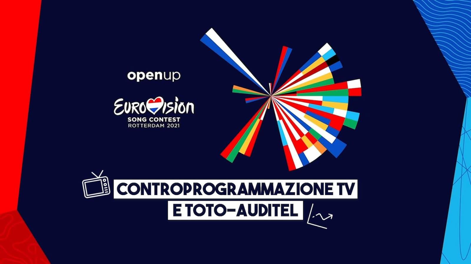 Eurovision 2021 Toto Auditel