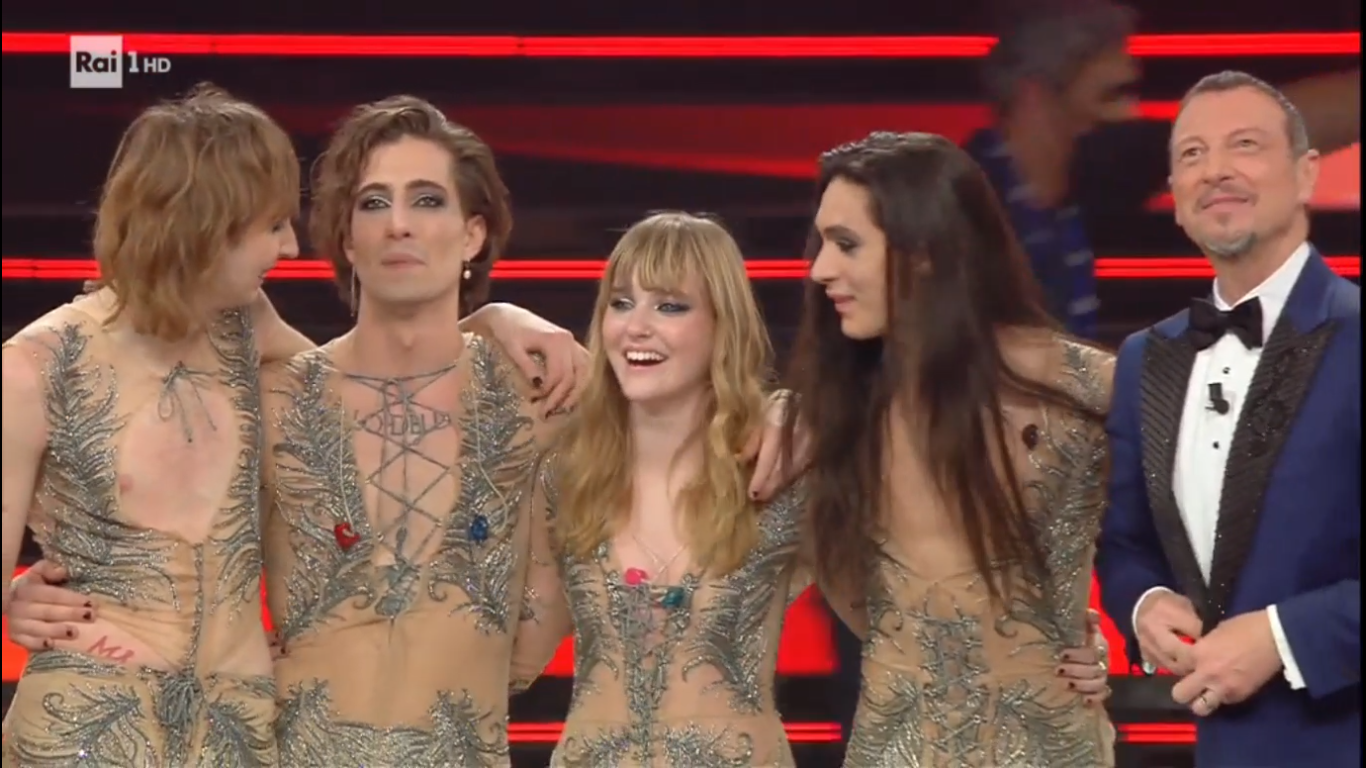 amadeus maneskin eurovision 2022