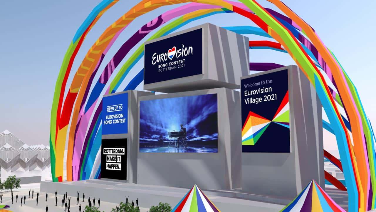 eurovillage esc 2021 cover