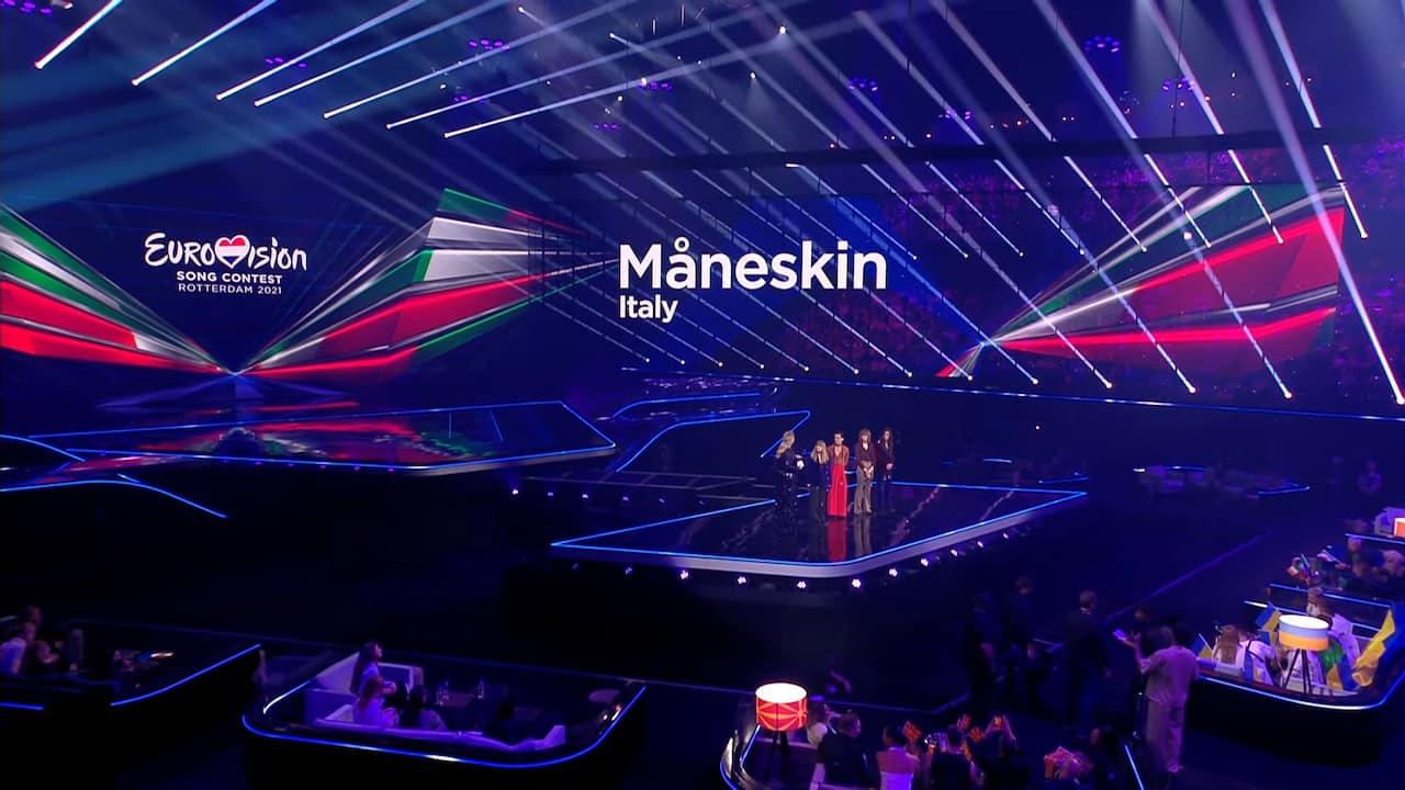 maneskin eurovision 2021 semifinale