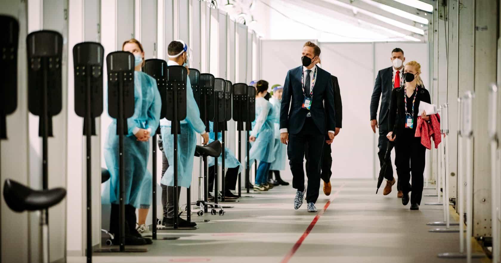padiglione tamponi eurovision 2021