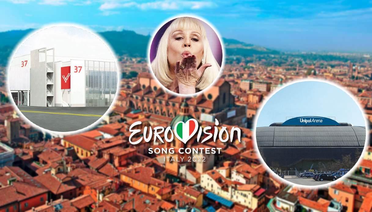 eurovision 2022 bologna unipol arena carrà fiera