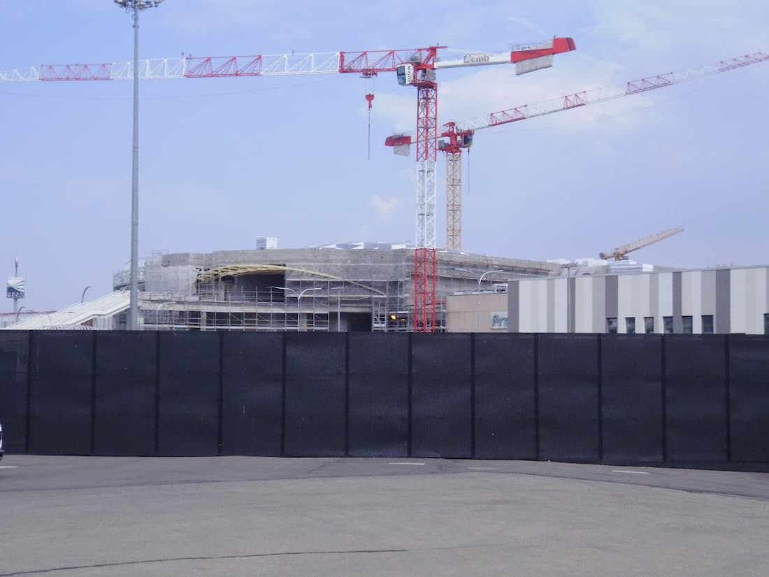 Cantiere Unipol Arena