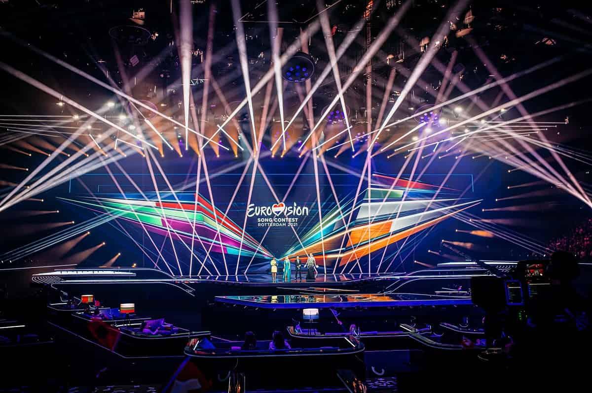 Eurovision 2021 palco