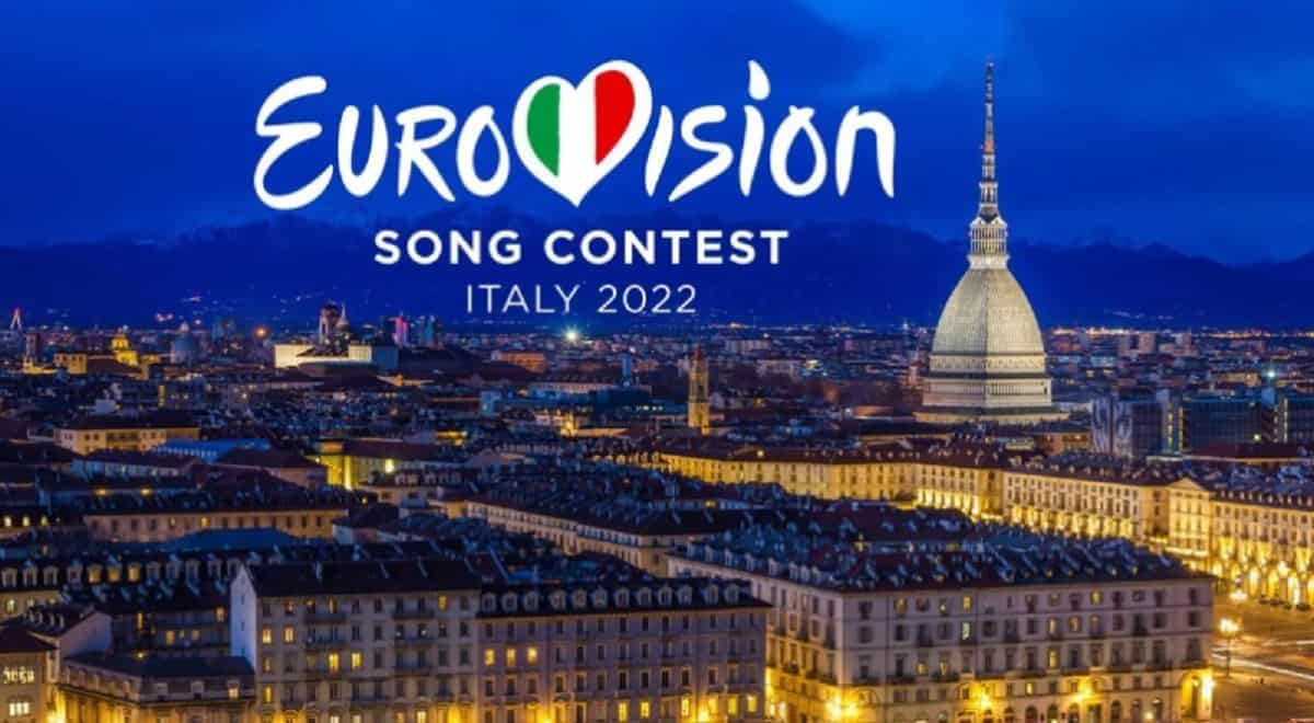 eurovision 2022 Logo Torino