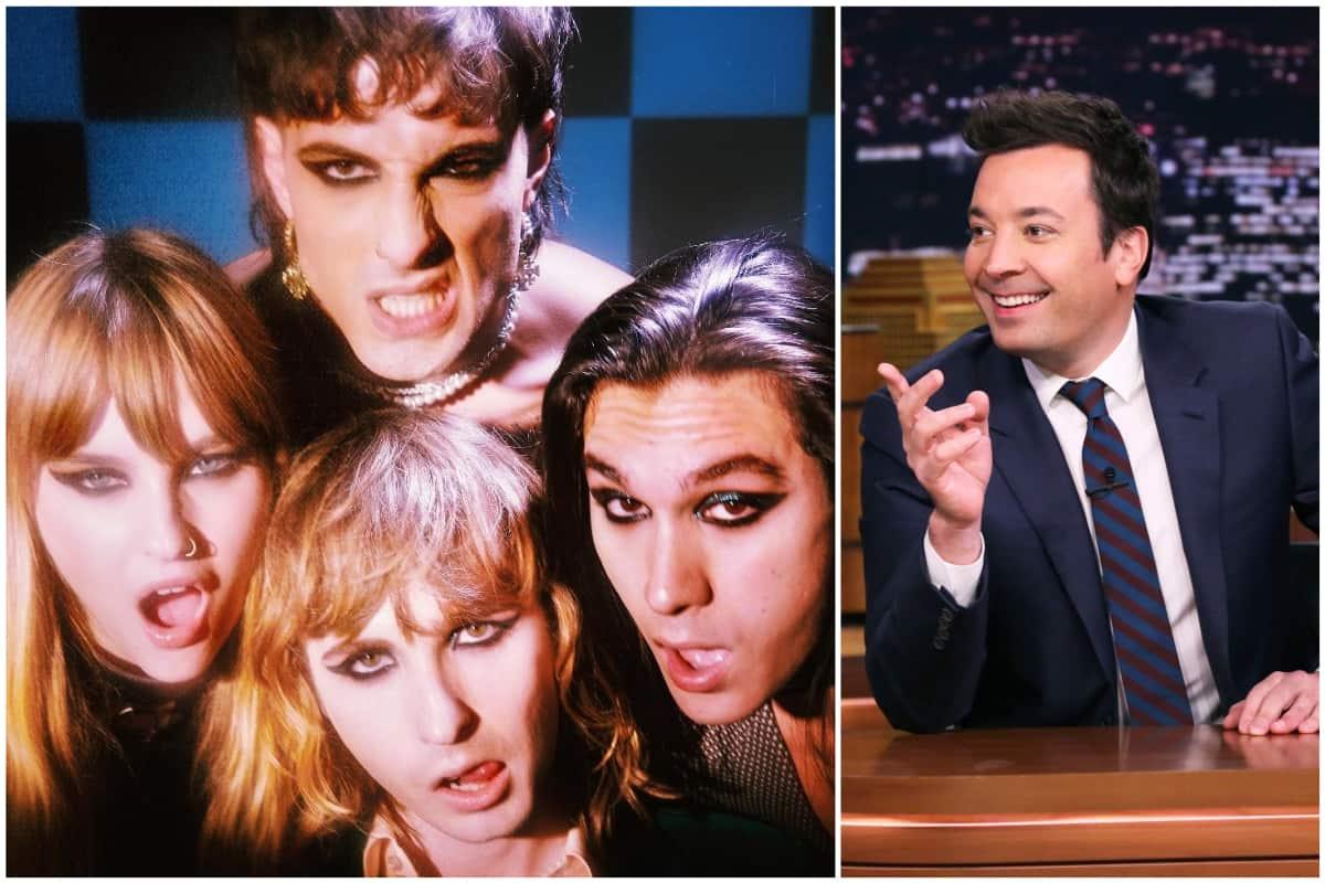 I Måneskin al The Tonight Show di Jimmy Fallon
